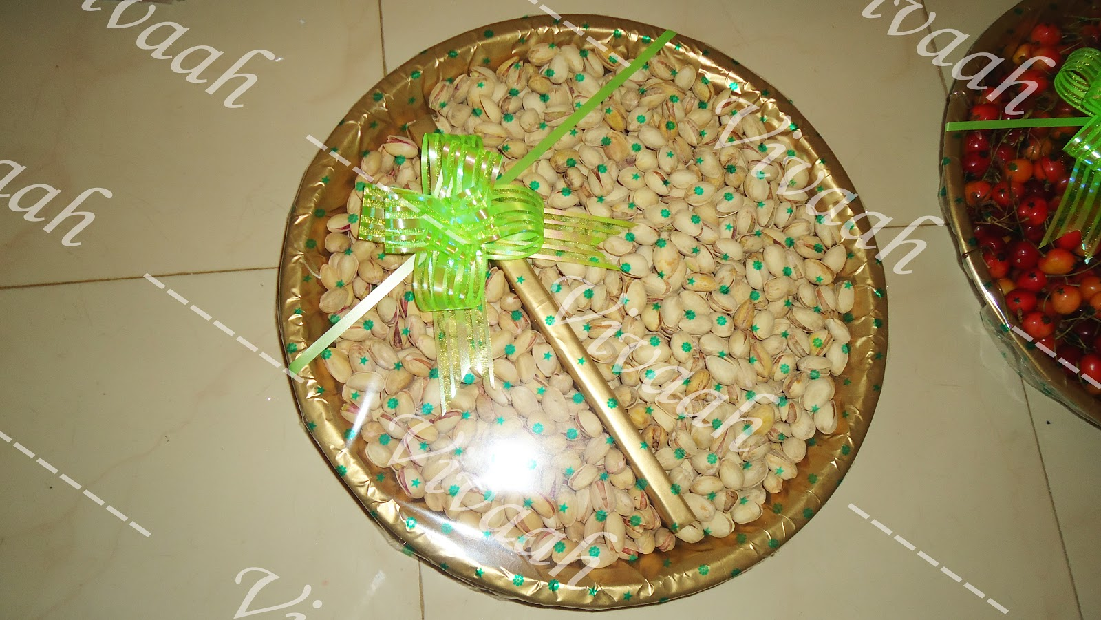 Aarathi varisai plates for Aarthi plates decoration