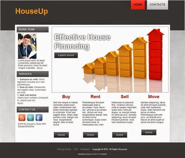 HouseUp - Free Wordpress Theme