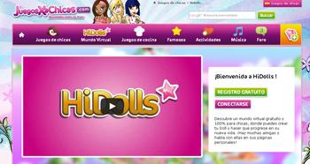 juegos online para chicas gratis en HiDolls