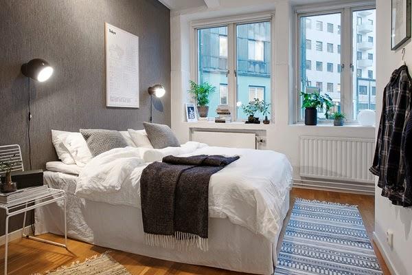 No sin mis cortinas o de un precioso piso de estilo for Dormitorio estilo nordico industrial