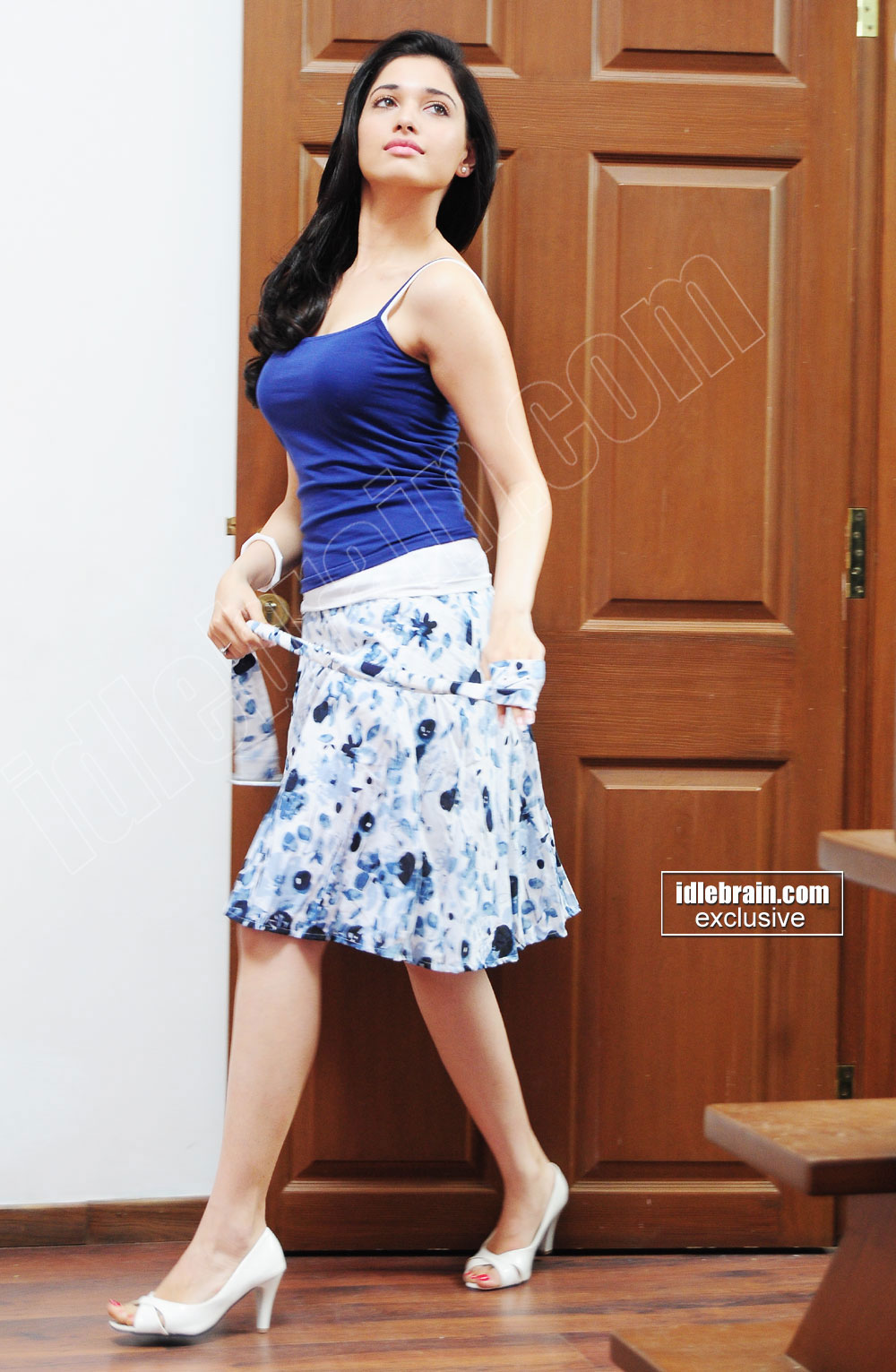 Pose 1 -  Tamanna Bhatia May 2012 photoshoot