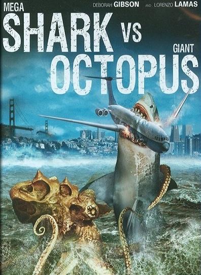 Todo El Terror Del Mundo: Mega Shark Vs Giant Octopus (メガ ...