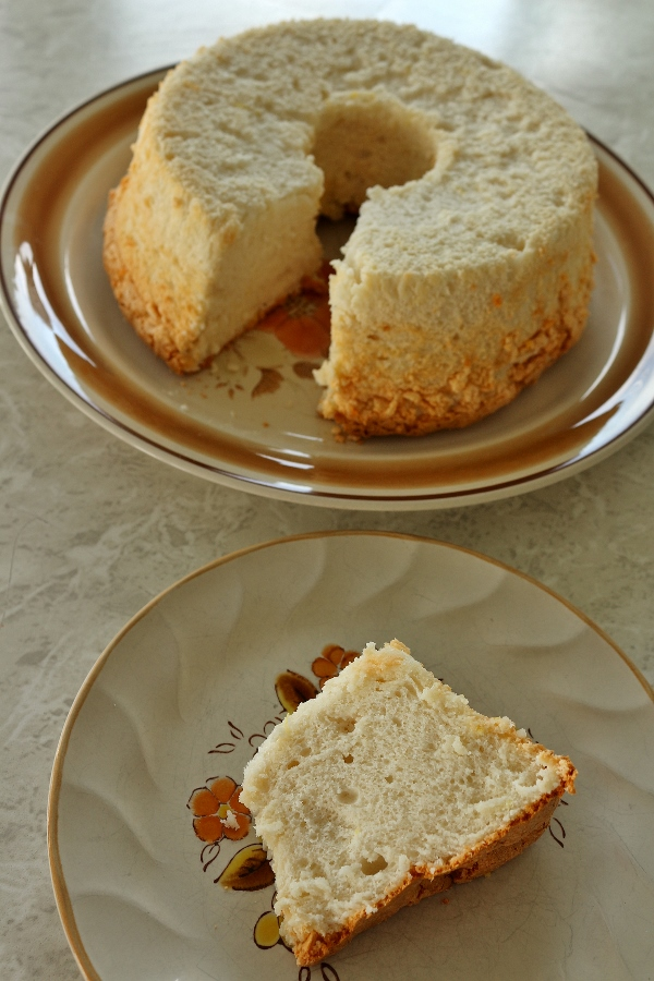 Mission food lemon angel food cake i also usually use cake flour as the recipe specifies but had run out recently so i substituted all purpose flour my cake turned out well so keep that in forumfinder Choice Image