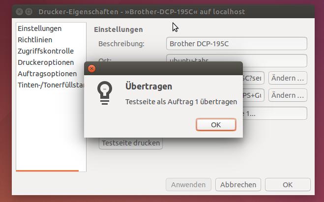 Drucker einrichten | Ubuntu 14.04 | TEAM-LINUX.DE