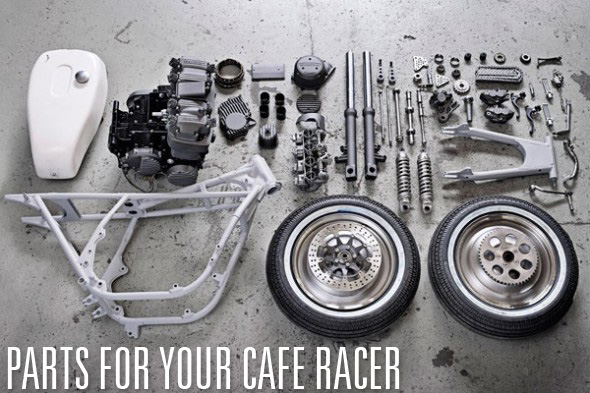 Bike Cafe Racer Parts : Cafe racer parts and accessories return of the racers