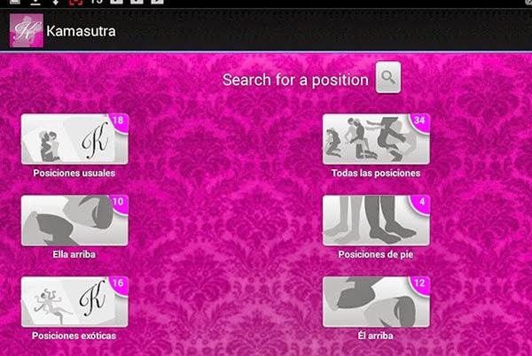 Kamasutra postura app