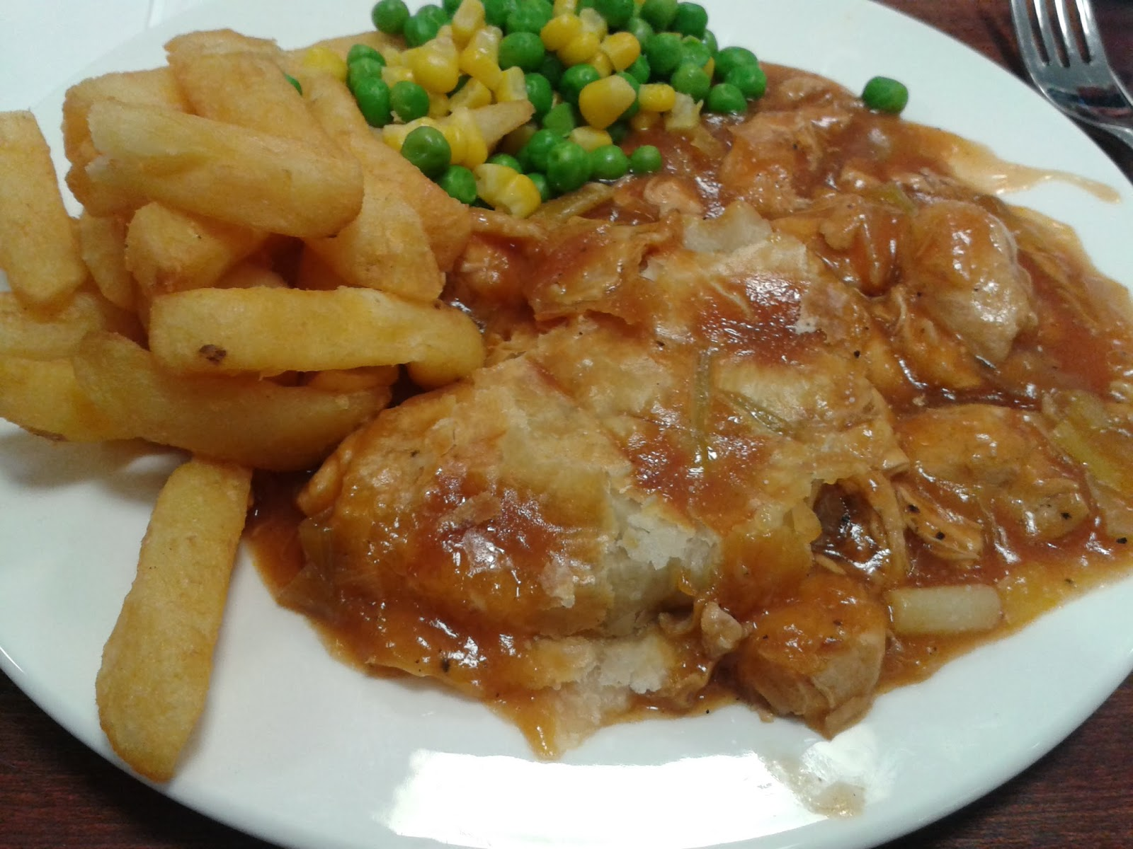 NIA Chicken and Leek Pie Review