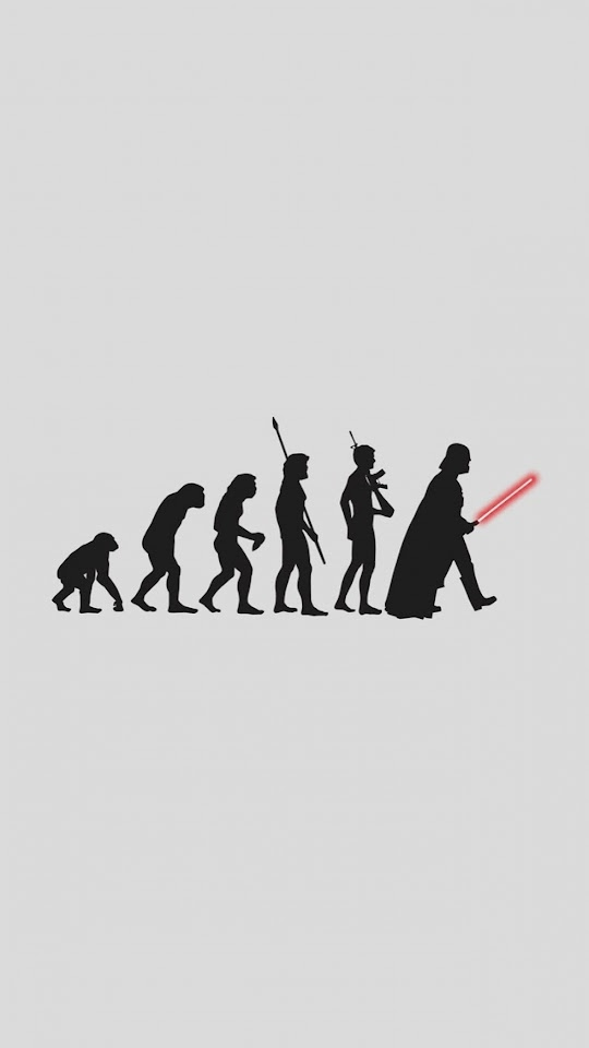 Darth Vader Human Evolution  Galaxy Note HD Wallpaper