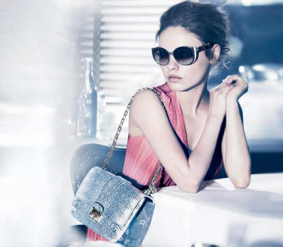 Mila Kunis - Sexiest Woman Alive 2012 in publicity shot for Dior wearing Dior SummerSet1 Sunglasses