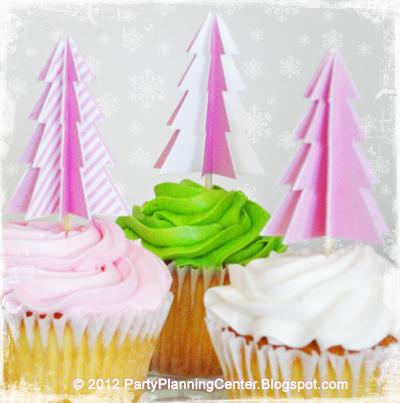 Cupcake Tree Topper
