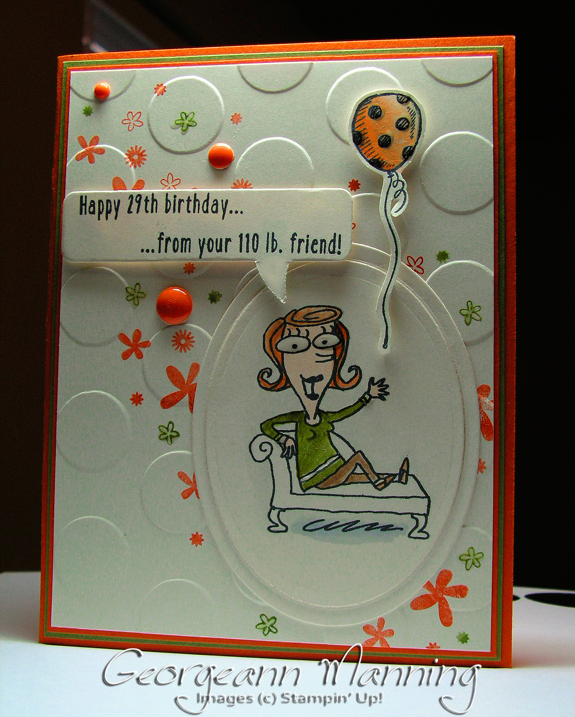 Paper princess just kidding perpetual birthday calendar birthday card just kidding perpetual birthday calendar birthday card m4hsunfo