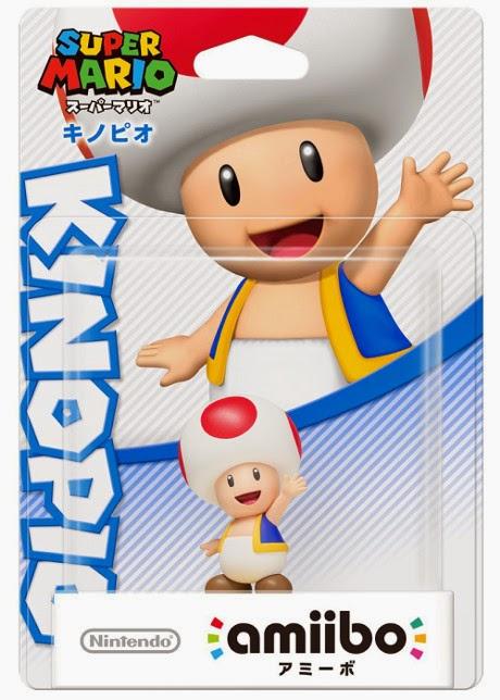 JUGUETES - NINTENDO Amiibo : Figura Toad   (20 Marzo 2015) | Videojuegos | Muñeco | Super Mario Collection