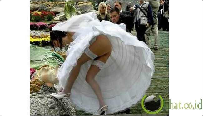 Эротические казусные фото на свадьбе