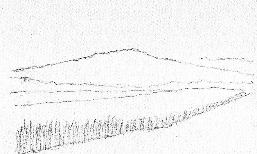 Acquerelliamo insieme il paesaggio la prospettiva aerea for Piani mensili in montagna