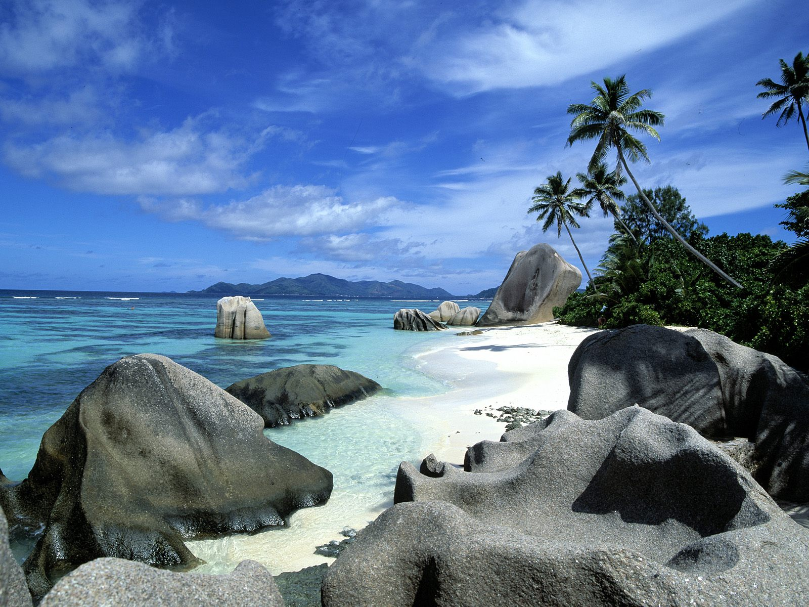 Anse Source DArgent La Digue Seychelles Best Beach In The World