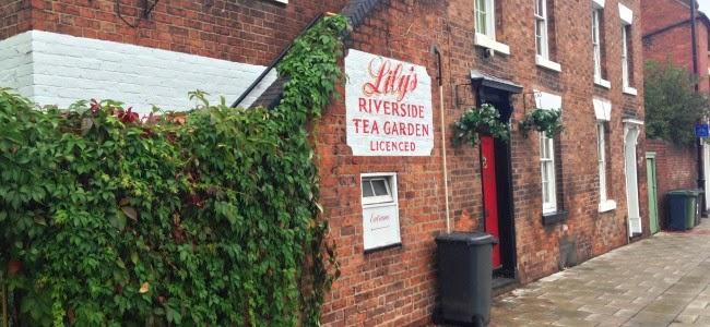 Lily's Tea Gardens in Shrewsbury