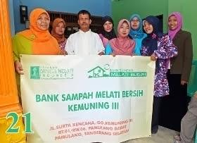 Bank Sampah Melati Bersih Kemuning Tiga