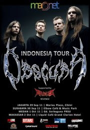 OBSCURA Indonesia Tour (Jakarta, Surabaya, Medan, Makassar) | Flayer OBSCURA Indonesia Tour (Jakarta, Surabaya, Medan, Makassar) | Image OBSCURA Indonesia Tour (Jakarta, Surabaya, Medan, Makassar)