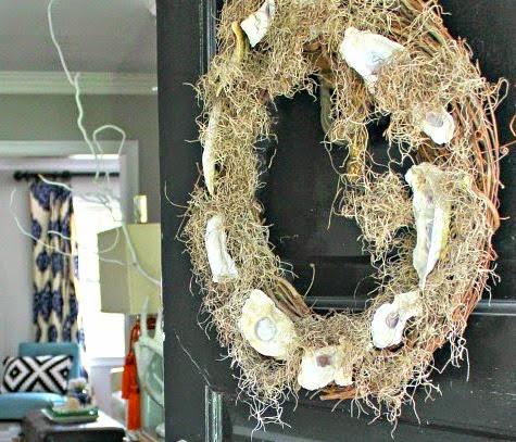 Oyster Moss Wreath