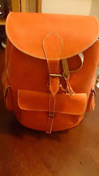 Moroccan Leather Backpack-£38