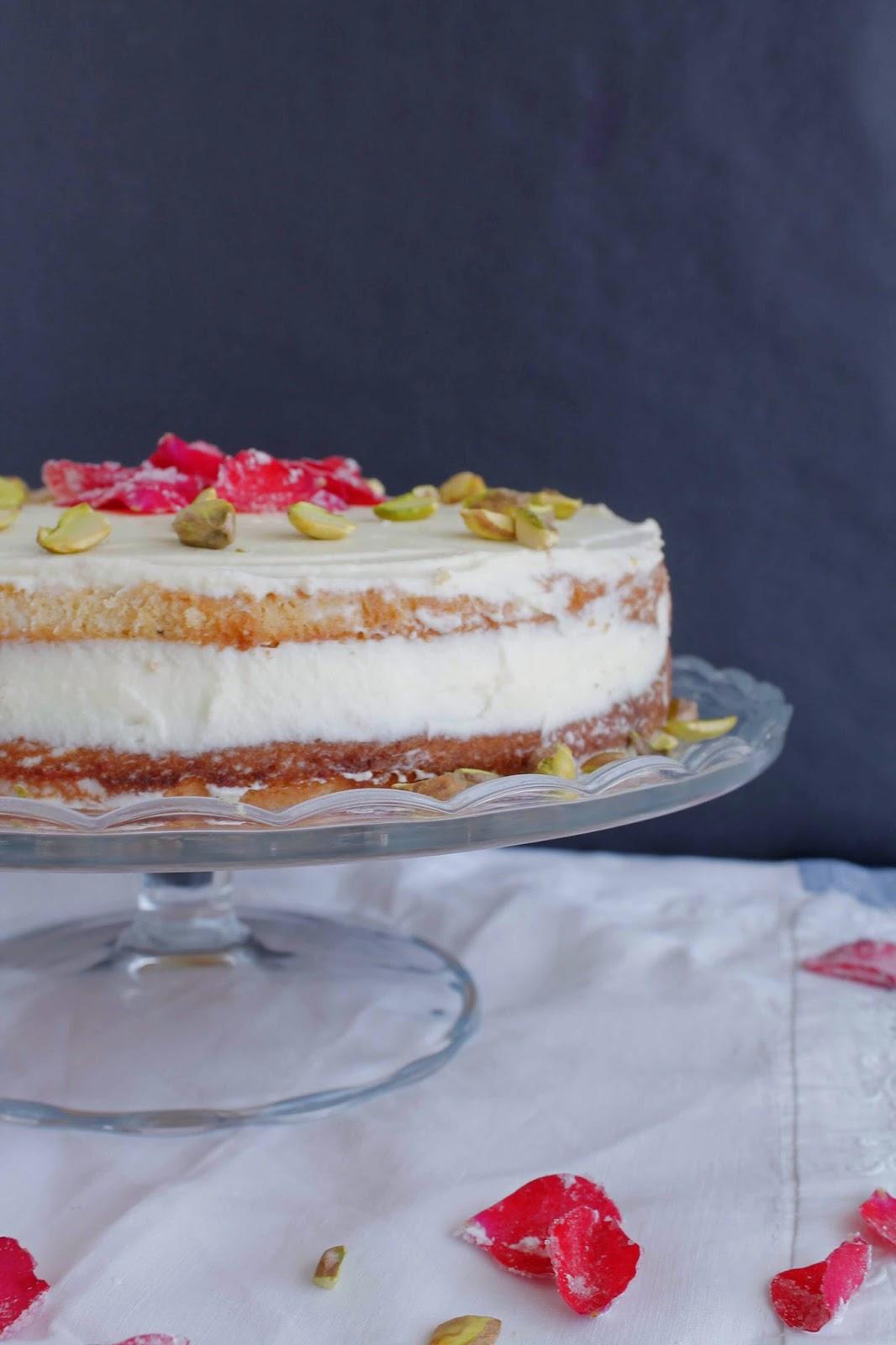Persian Love Cake o Tarta persa de rosas
