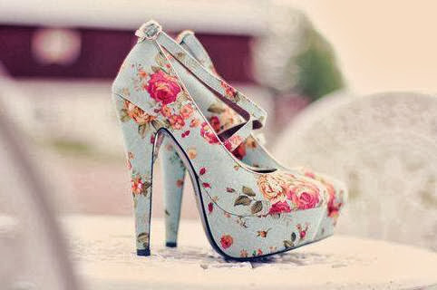Printed High Heeled Sandal