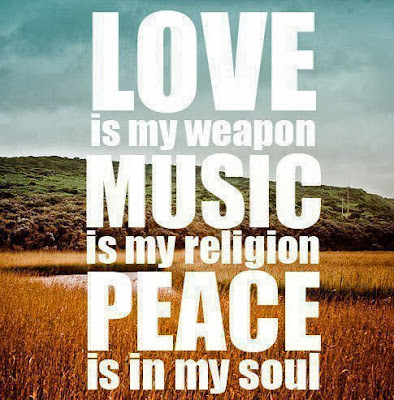 Love Music Peace Quotes