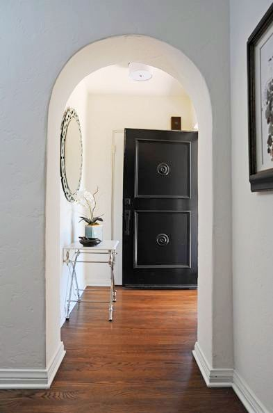 Black Foyer Doors : See this house a million dollar spanish ranch in los