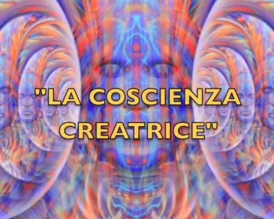 La COSCIENZA CREATRICE