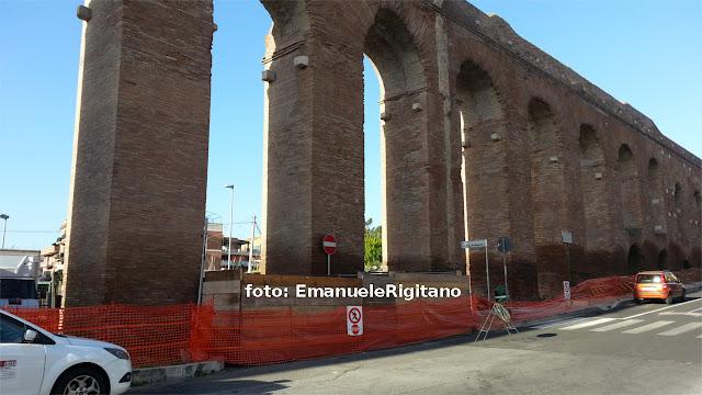 Roma, Acquedotto Alessandrino. Foto: Emanuele Rigitano