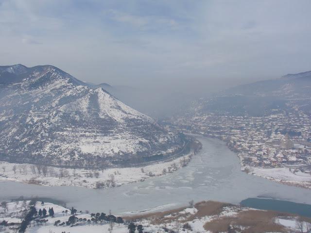 Заснеженная грузия