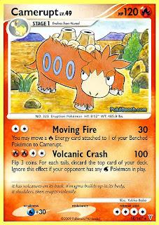 Camerupt Pokemon Card Supreme Victors set