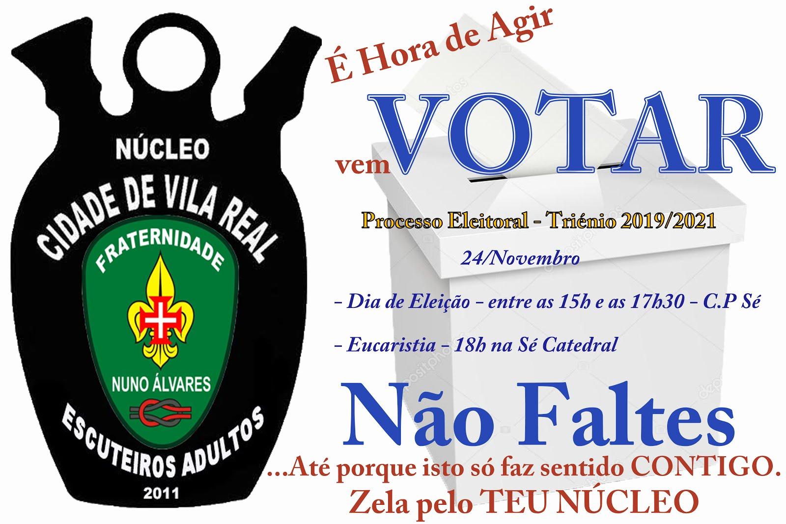 Eleições Núcleo Triénio 2019/2021