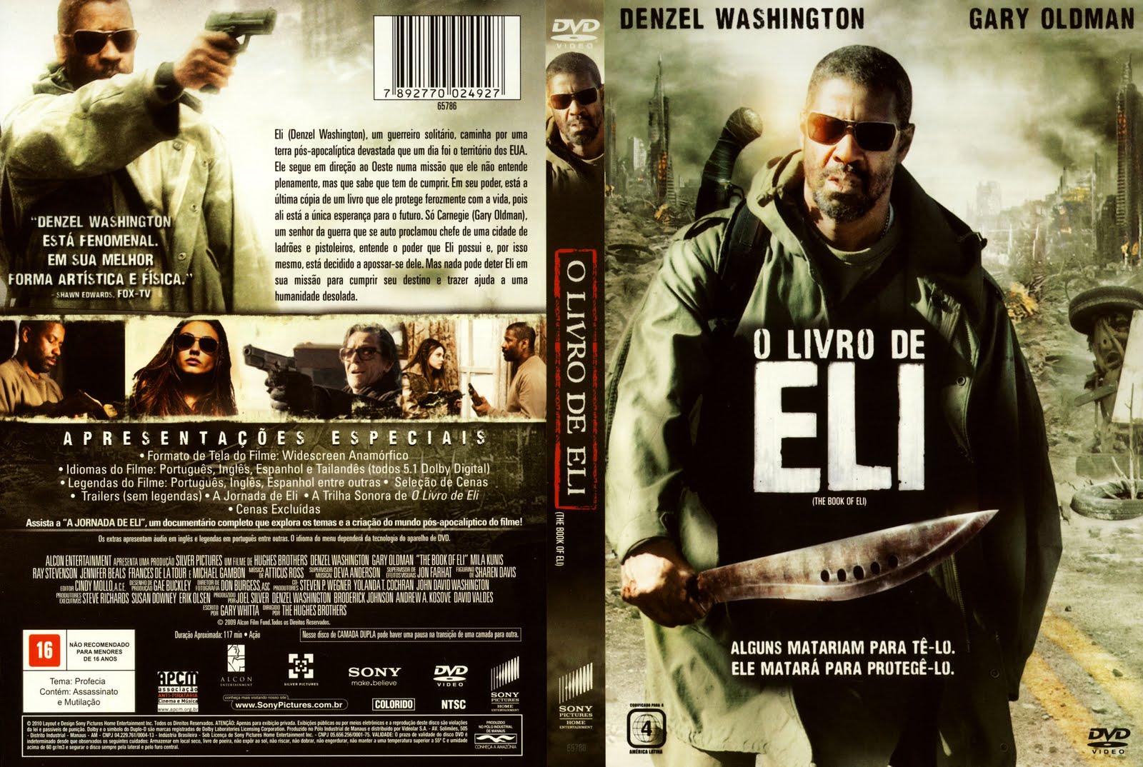 O LIVRO DE ELI ~ CAPAS DE FILMES EM DVD