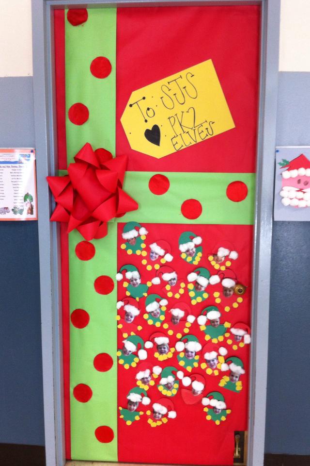 Decorating Ideas > Blogmaníacos Navidad En Nuestra Puerta ~ 053358_Christmas Decoration Ideas For The Classroom