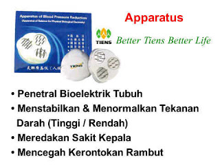 "Tiens Hypotension Apparatus ""Sisir Ajaib"""