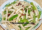 Cold Celery and Dry Bean Curd