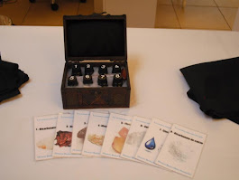 Kit de descriptores del agua mineral
