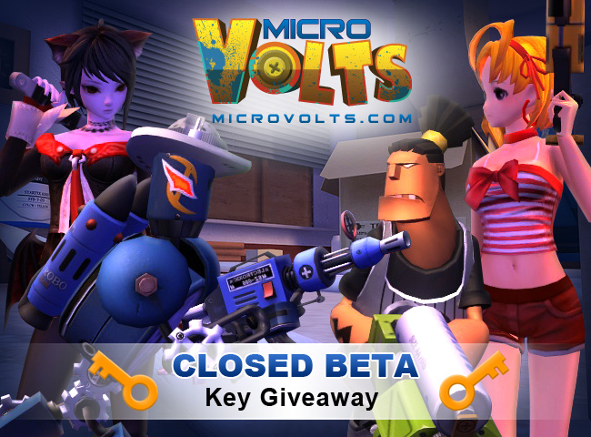 Closed Beta MicroVolts Logo