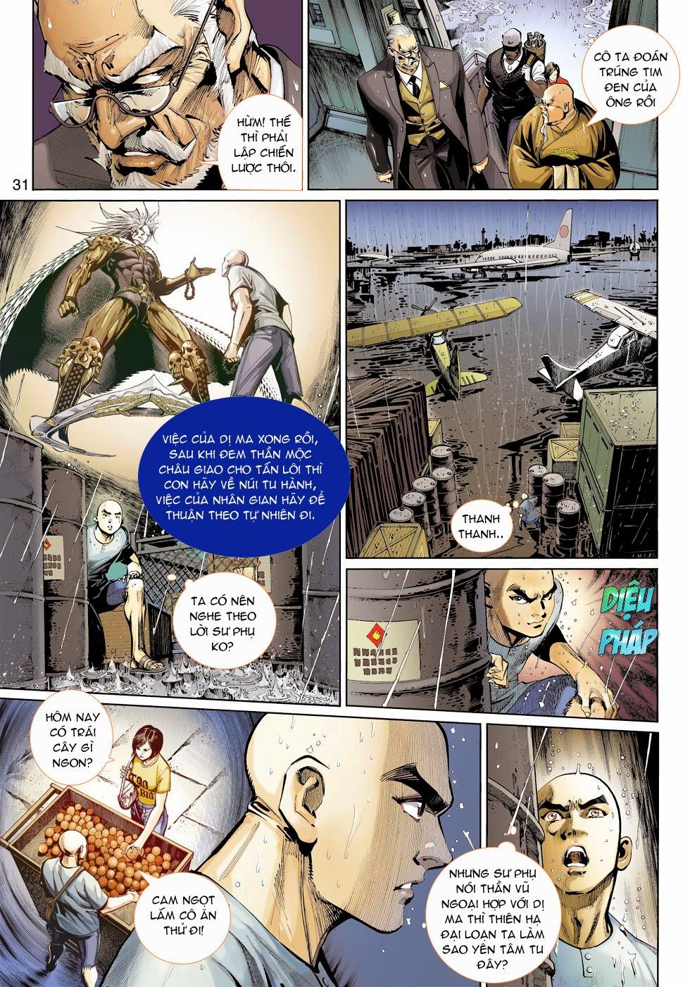 Thần Binh 4 chap 25 - Trang 33