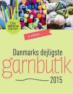 Danmarks dejligste garnbutik 2015