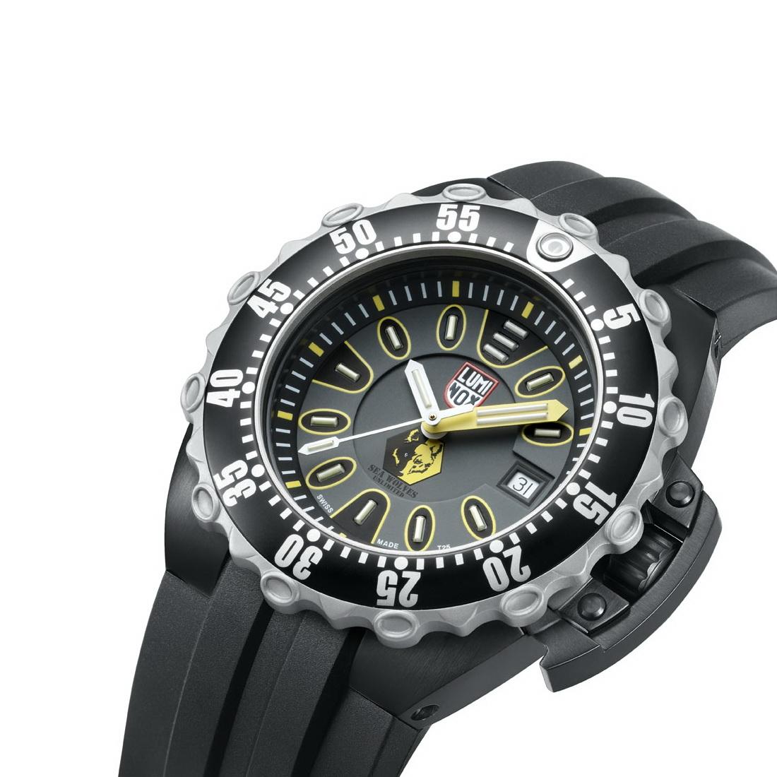 Oceanictime luminox deep dive 1525 scott cassell se sea - Luminox dive watch ...