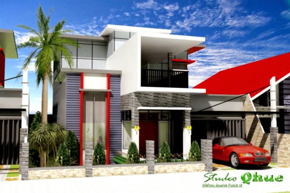 Desain Rumah Desain Rumah Modern Studeo Qhue   Ispirasi Desain