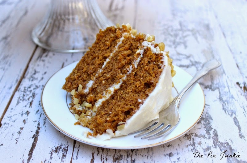 complete with a cream cheese frosting and it s full of fragrant spices ...