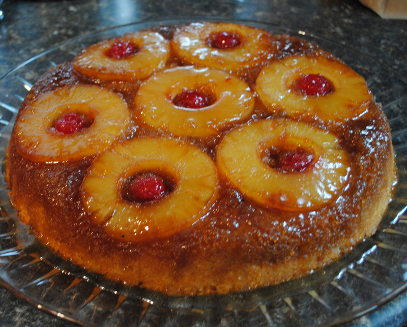 Sunla Designs: Recipe: Pineapple Upside Down Cake in an Iron Skillet