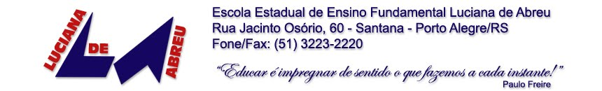 E.E.E.F. LUCIANA DE ABREU