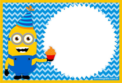 minions free party invitation