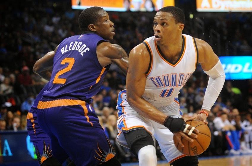Watch Oklahoma City Thunder vs Phoenix Suns full game replay 3/29/15 - Akie Sports