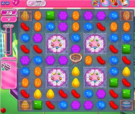 Candy Crush Saga 421