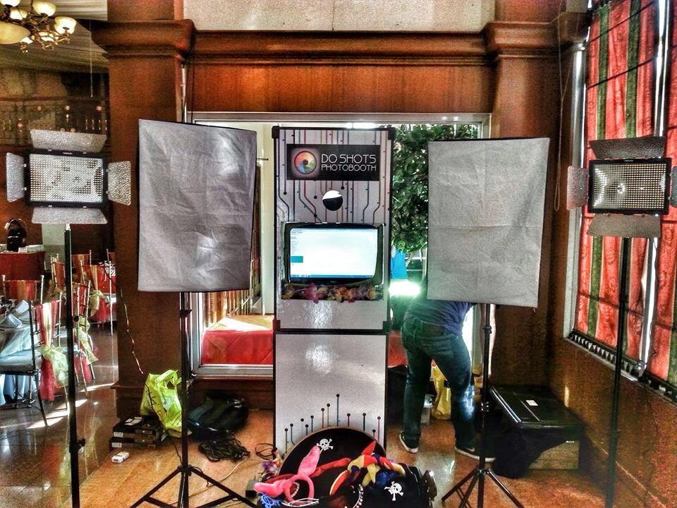 DoShots photobooh set-up